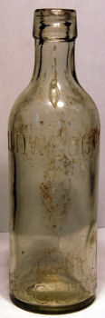 Lowcock Glass Bottle - Old
