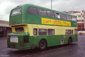 Lowcock's Lemonade Bus Advertisement (Photo Copyright Ned Basher)