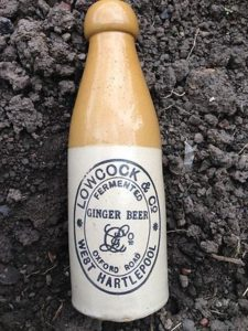 Lowcock Ginger Beer Bottle