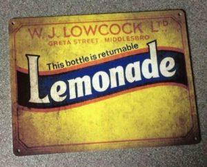 Lowcock's Lemonade - Returnable Bottles