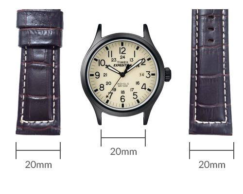 Timex Pay Watchband Measurement